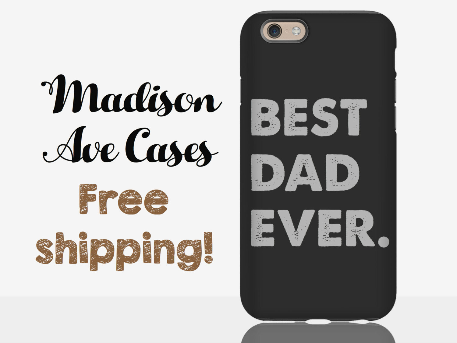 best dad ever cool man guy christmas gift kids fathers day manly grandpa birthday customize samsung galaxy s5 s6 s7 iphone 4 5 6 phone case - Best Dad Christmas Gifts