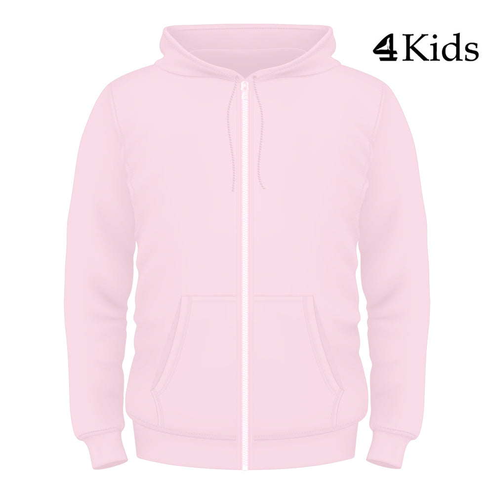 de0aec5e7 Traditional Kids Pink Full Zip Hoodie – Buoy4 Clothing Company
