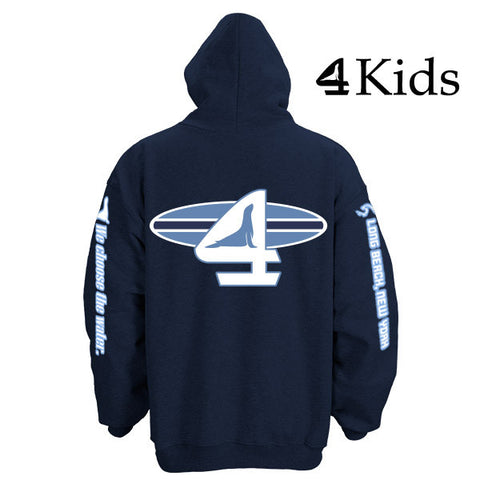 Long Beach Surfer Kids Hoodie