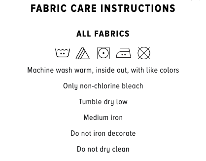 Fabric Care Mindrolling Tee