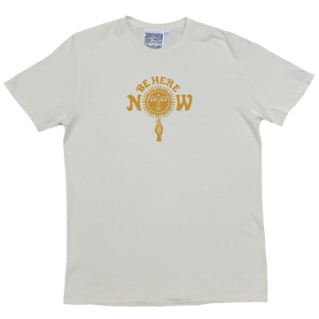Be Here Now Hemp & Cotton Tee (Unisex)