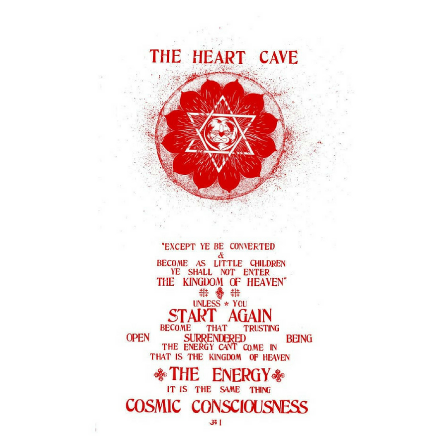 Be Here Now: The Heart Cave Flag
