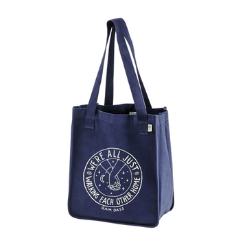 Walking Each Other Home Organic Market Tote