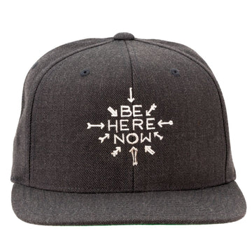 Be Here Now Snapback Cap (Unisex)