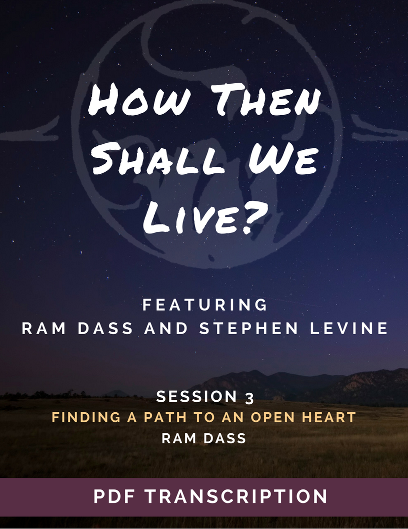 How Then Shall We Live? (Audio & Video Download)