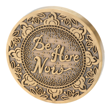 Be Here Now Medallion