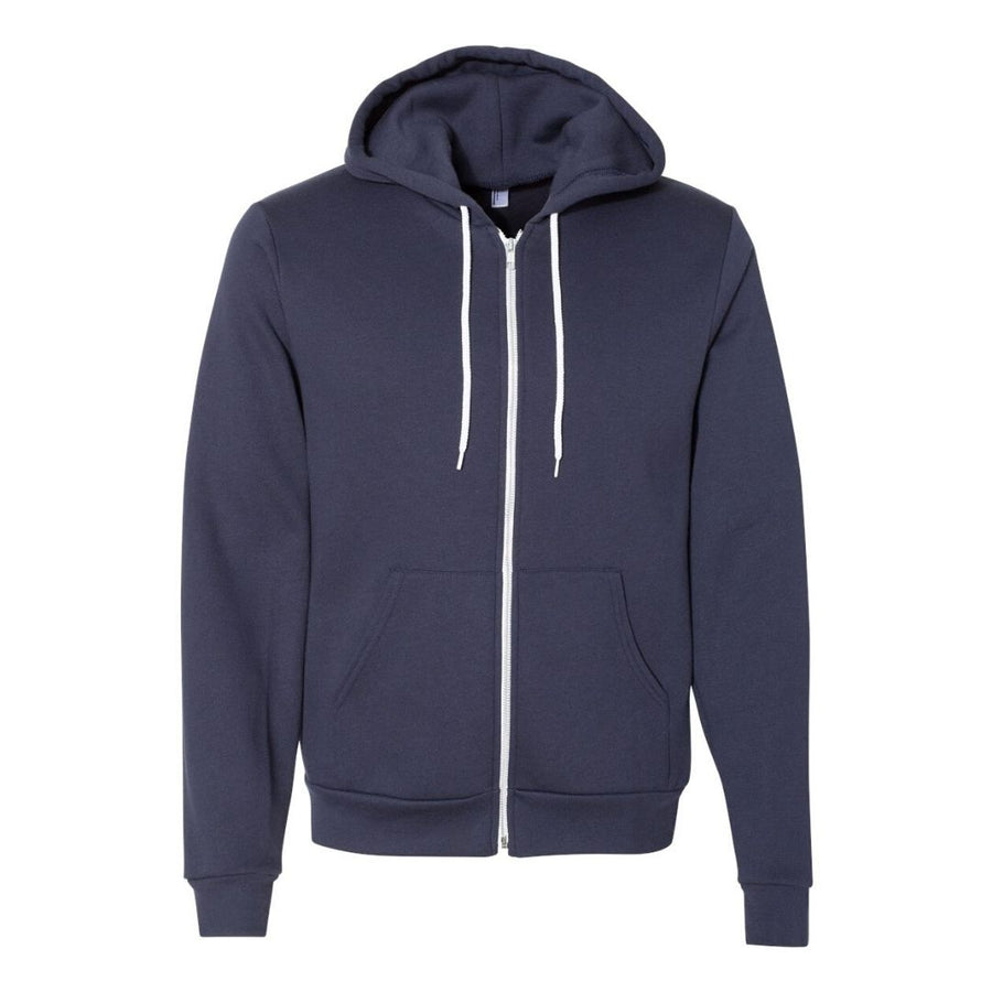 Walking Each Other Home Zip Up Hoodie (Unisex)