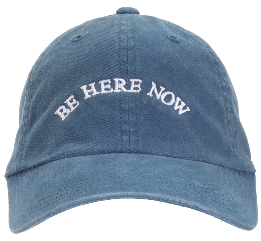 Be Here Now Baseball Cap (Unisex)
