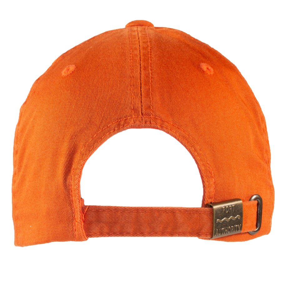 Be Here Now Baseball Cap (Cooked Carrot)