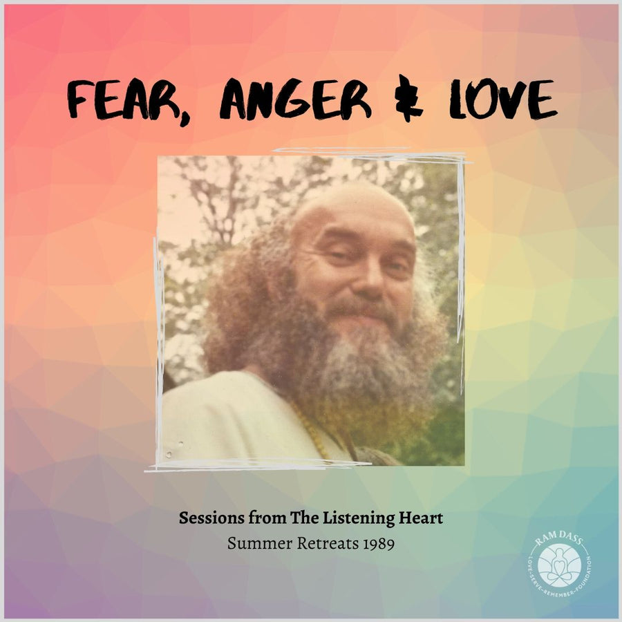Fear, Anger and Love (Audio Download)
