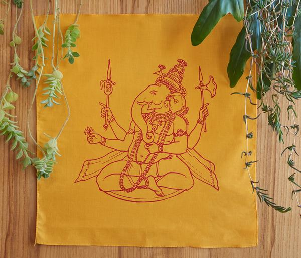 Ganesha Prayer Flag