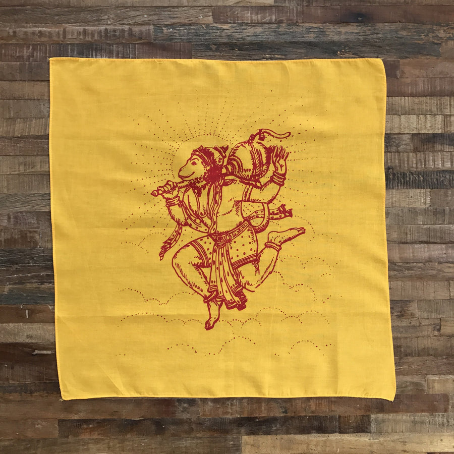 Happy Hanuman Prayer Flag