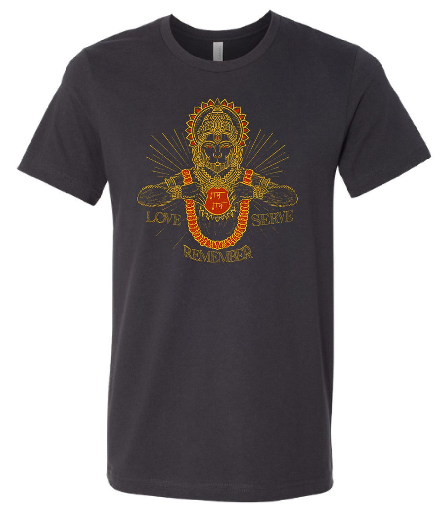 Hanuman Love Serve Remember Tee