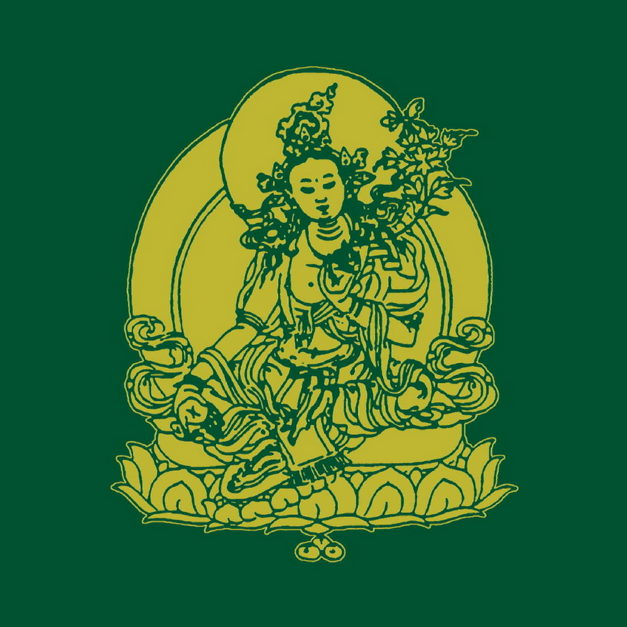 Green Tara Prayer Flag
