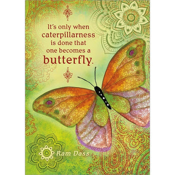 Caterpillarness Encouragement Greeting Card (6 Pack)