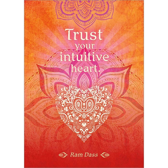 Intuitive Heart Inspirational Greeting Card (6 Pack)