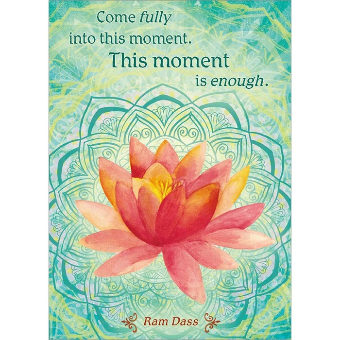 Come fully into this moment. Congratulations Greeting Card (6 Pack)