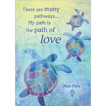 There are many pathways... Encouragement Greeting Card (6 Pack)