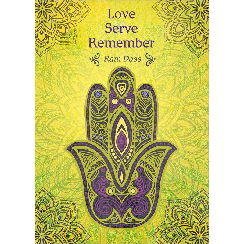 Love Serve Remember. Inspirational Greeting Card (6 Pack)