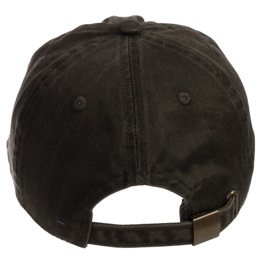 Be Here Now Baseball Cap Black