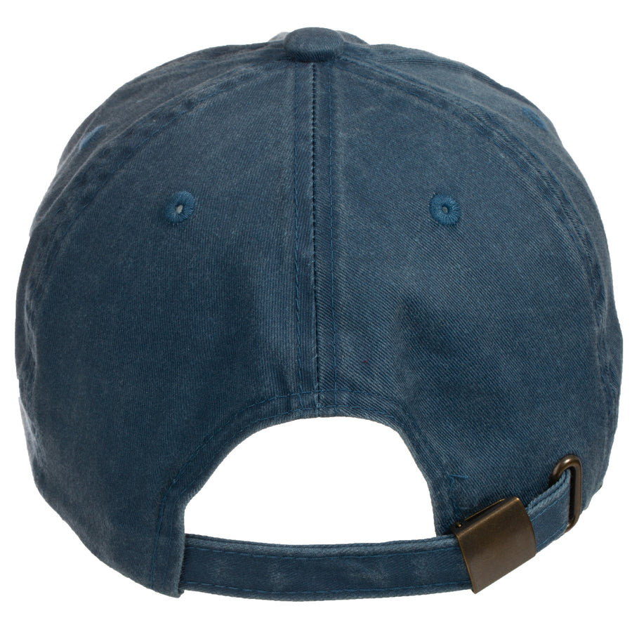Be Here Now Baseball  Cap Steel Blue