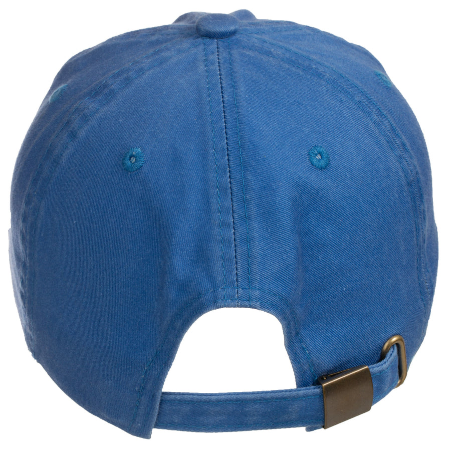 Be Here Now Baseball Cap (Faded Blue)
