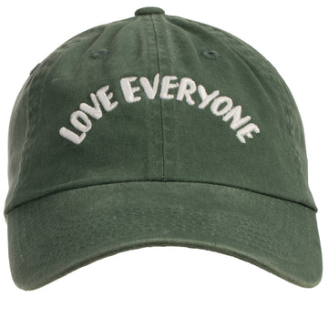 Love Everyone Baseball Cap (Unisex) - Green