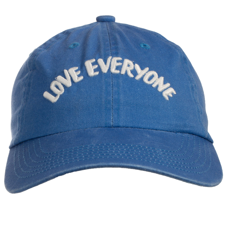 Love Everyone Baseball Cap (Unisex) - Faded Blue