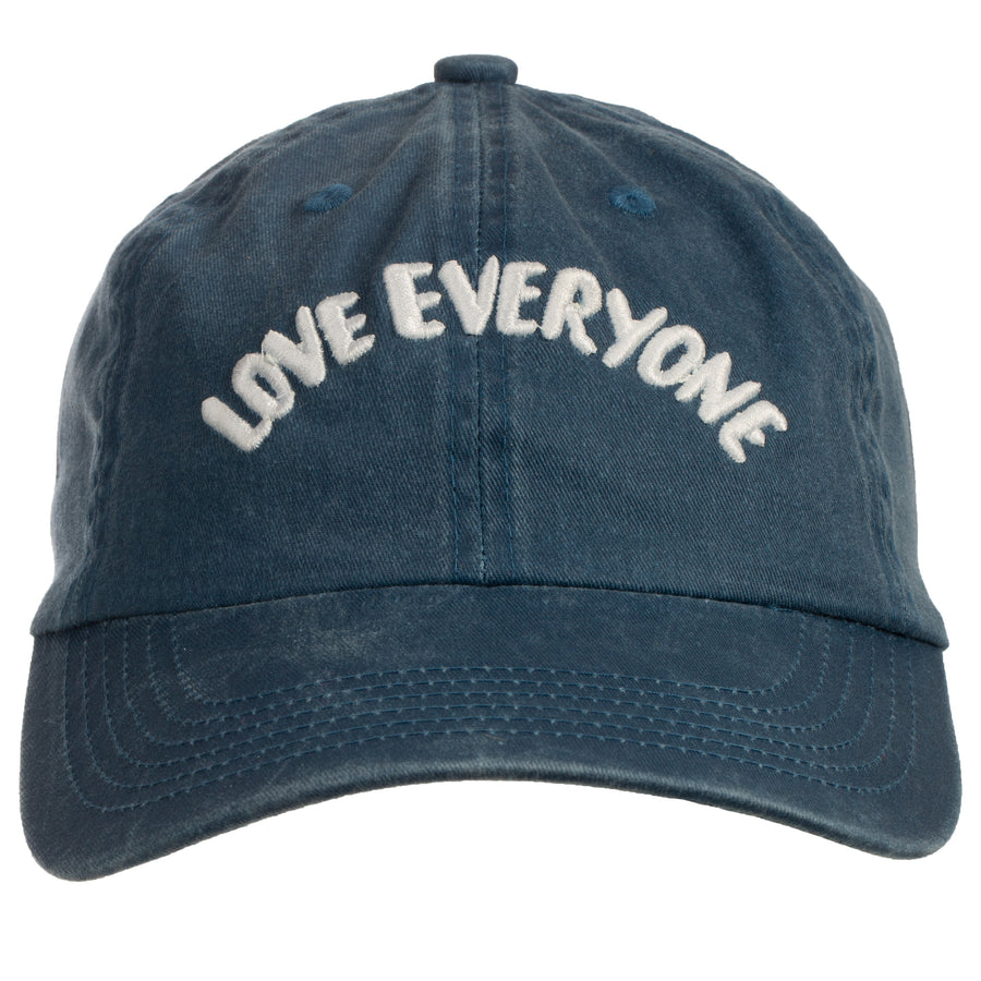 Love Everyone Baseball Cap (Unisex) - Steel Blue