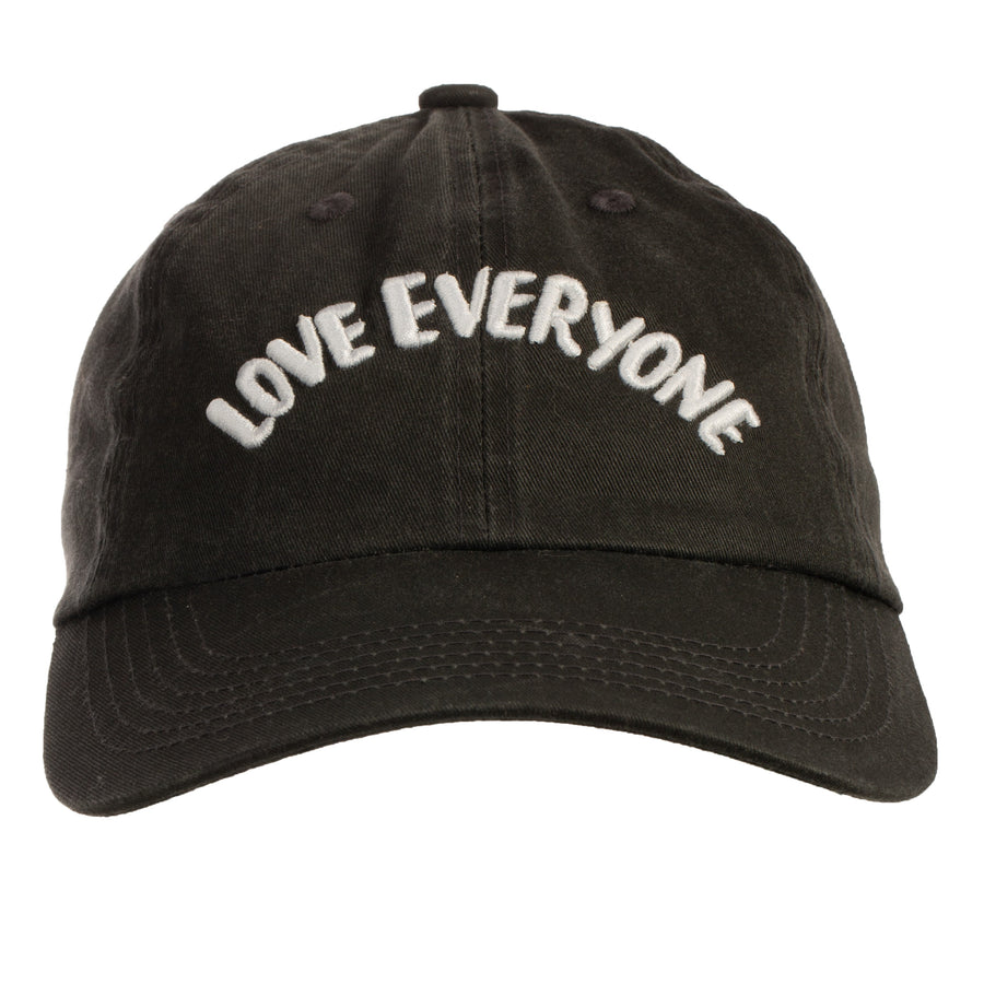 Love Everyone Baseball Cap (Unisex) - Black