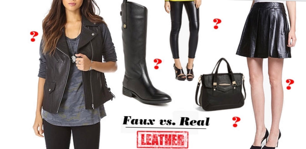 Real Leather vs. Faux Leather: 4 ways to tell the difference