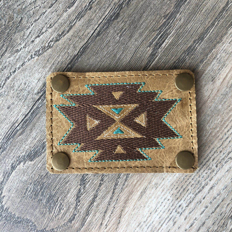 Aztec gold patch