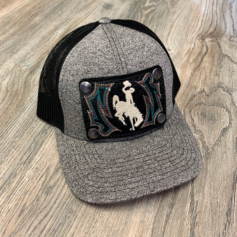 Grey/Black Hat