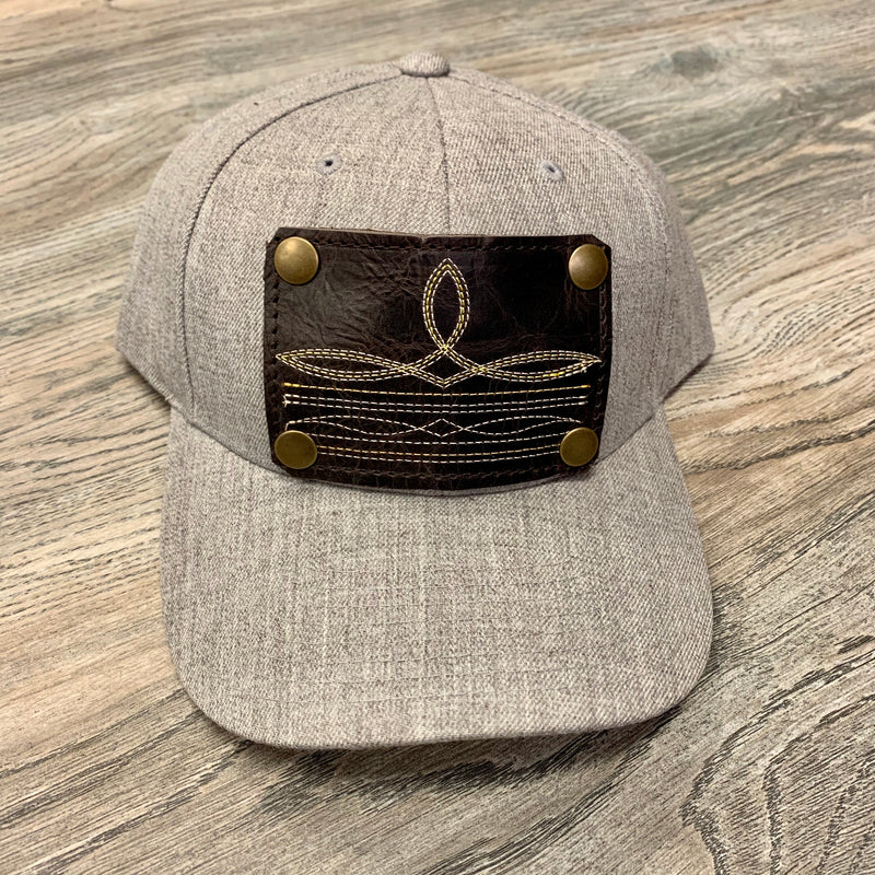 Solid Gray Hat