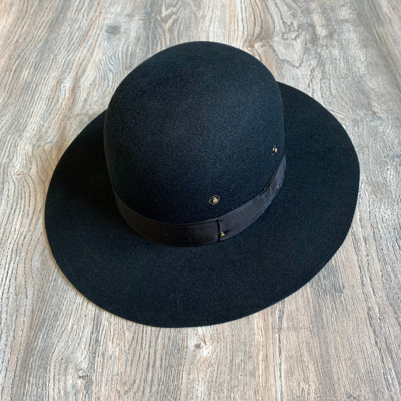 Black Dome Hat