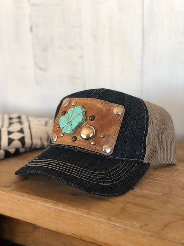 Dark Denim Hat