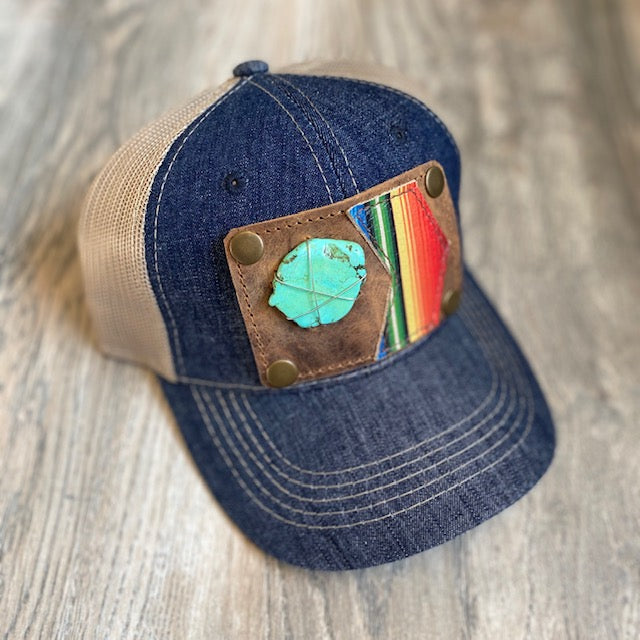 Turquoise Serape Patch