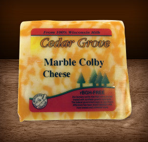 Marble Colby Cheese
