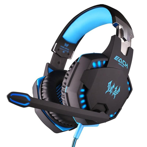 Ninja Dragon Stealth G21Z LED Vibration Gaming Headphone with Microphone