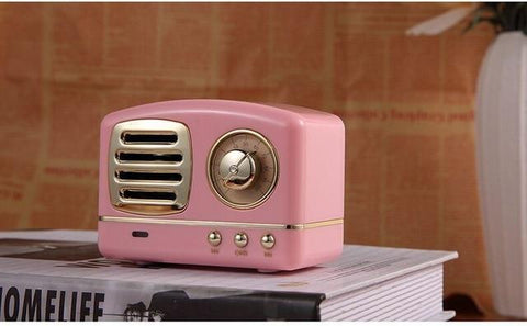 Retro True Wireless Mini Bluetooth Speaker Radio