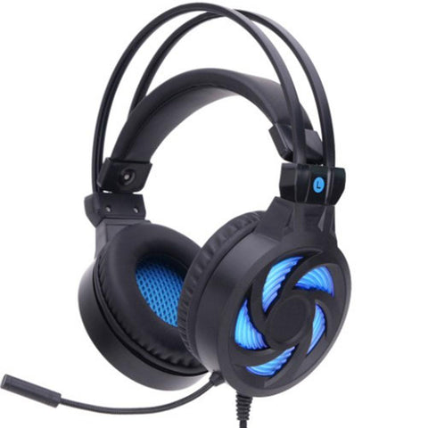LED Wired Stereo Gaming Headset with Microphone