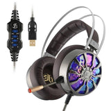 Ninja Dragon P65X USB 3D Surround Vibration Gaming Headset