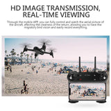 Remote Control WiFi Headless 3D Flip Quadcopter Drone with 1080P Wide Angle Camera