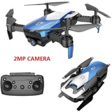 Foldable Remote Control WiFi Quadcopter Drone with Wide Angle 2MP Camera