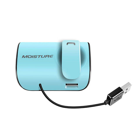 Moisture MT-B20 Bluetooth Earphones With Charger Adapter For Car In Blue - M2RFA-MT-B20BL