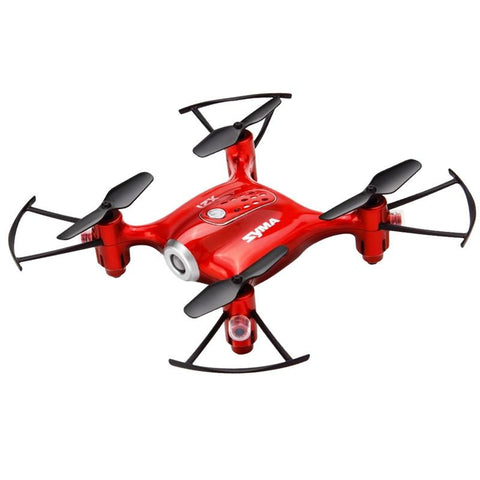 Mini Red 4 Axis Altitude Hold Quadcopter Drone