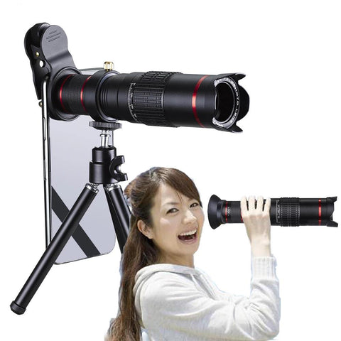 Ultra Crystal HD 22x Zoom Telescope Mobile Phone Camera Lens Set
