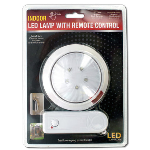 Indoor LED Lamp with Remote Control
