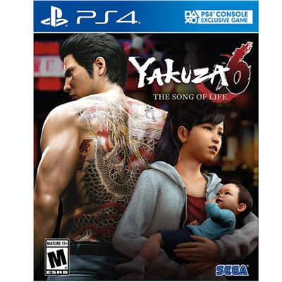 Yakuza 6 SoL Stnd Edit PS4