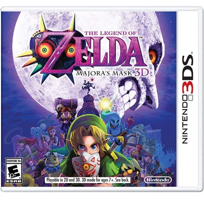 Legend Zelda Majora Mask3D 3DS